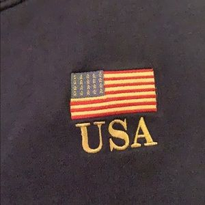 Gear For Sports Sweaters - USA Vintage embroidered American flag sweatshirt